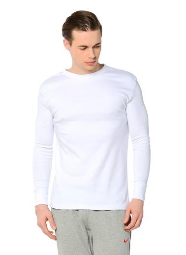 Grip Uzun Kollu Sweatshirt Beyaz